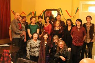Attendees of the 2015 Yule Dinner. Photo by Mark.