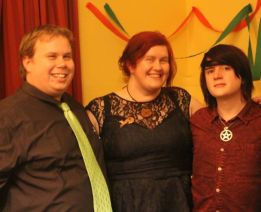 At the 2015 Yule Dinner