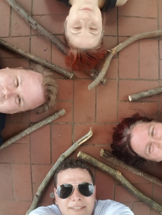 Oak, Smash and Thorn Pagan Morris held their very first rehearsal on a forty degree day in Melbourne. Photo: Mark Hayes