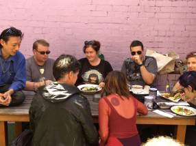 The January 2017 CBD Pagan Pub Moot. Photo: Ryan McLeod