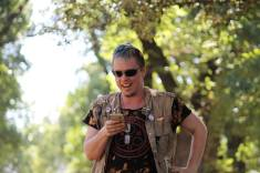 Dorian discusses Chaos Magick at our first Pagan Pride Day, in 2017. Photo: Mark Hayes Photography