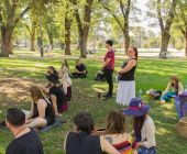 At our first Pagan Pride Day, in 2017. Photo: Mark Hayes Photography