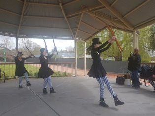 From Oak, Smash and Thorn's 2017 Morris Camp in South Australia. Photo courtesy of Josephine Winter.