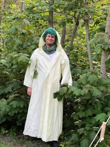 At the 2017 Mount Franklin Pagan Gathering. Photo by Nuccia Isaacson.