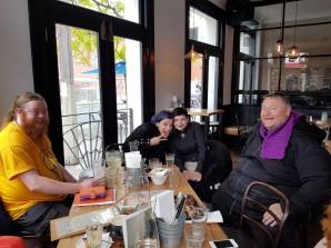 Silver Birch Grove ADF's Druid Coffee, October 2017